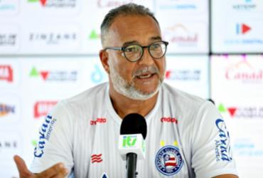 """Médico do Bahia diz que Ramirez evoluiu bem, mas projeta retorno: """"Sem ansiedade"""""""