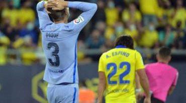 Barcelona fica no 0 a 0 fora de casa com o Cádiz no Espanhol