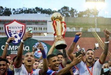 Bahia empata com o Vitória e garante título do Baianão sub-20